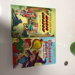Enid blyton books read only once. 2 for $5