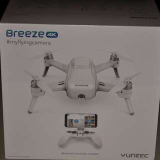 Brand New Yuneec Breeze 4k with Controller (Cheaper Alternative to DJI Spark)