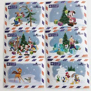 Disney Christmas Edition Stickers
