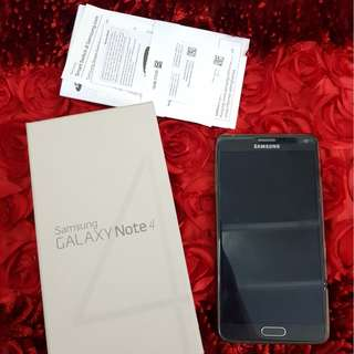 [Sell] Samsung Galaxy Note 4 ex Sein fullset