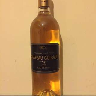 Luxury Gran Cru wine  Chaterau Guiraud 2005