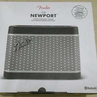 New 原價$1680 全新 Fender the Newport Bluetooth speaker 藍牙喇叭