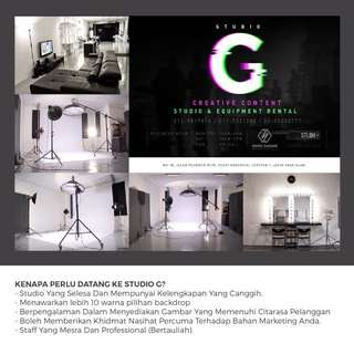 Photography and videography studio rental