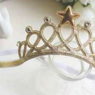 Crown Head Band (Softband, glittery headband)