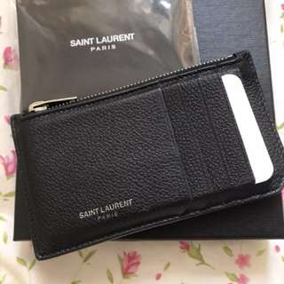 ysl saint laurent card holder 黑色卡片套