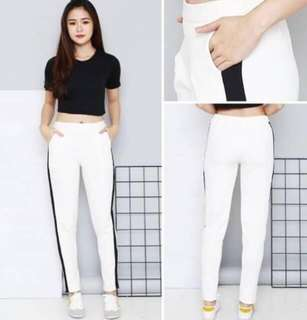 ZARA SIDE LIST SCUBA PANT