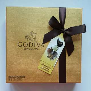 Godiva 朱古力禮盒