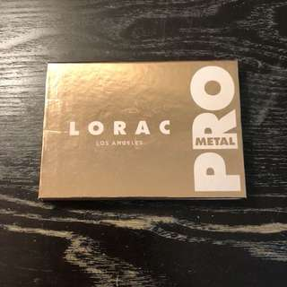 authentic lorac pro metal palette