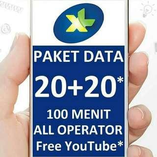 XL XTRA COMBO 40GB