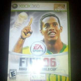 XBOX 360 FIFA 06 - Road to FIFA World Cup