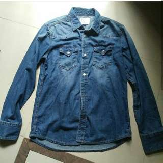 Kemeja Denim Estee Original made in Indonesia