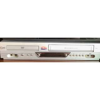 LG DVD (Read and Write), Karaoke and VHS player