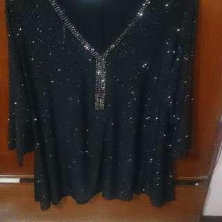 Plus size blouse 3x notation