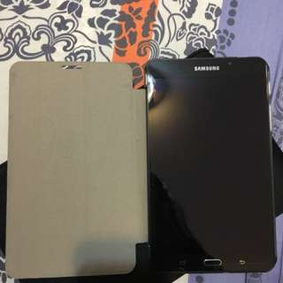 "Samsung Galaxy Tab A6 (連機套book cover)7"""