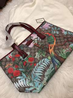 Gucci Tian GG medium tote