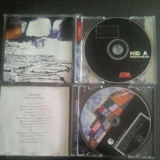 RADIOHEAD 2 ORIGINAL CD  - KID A & HAIL TO THE THIEF