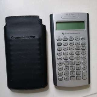 Texas Instruments BA II Plus CFA FRM Calculator