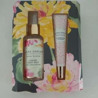 *BRAND NEW* Laura Ashley Royal Bloom Luxury Body Mist 50ml and Lip Balm 15ml Gift Set