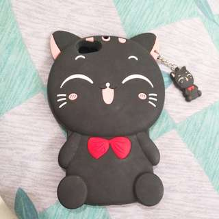 Oppo F1s Black Cat Case