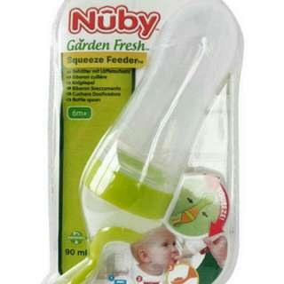 Nuby Squeeze Feeder - 2 spoons