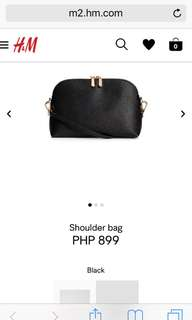 H&M Leather Sling Bag