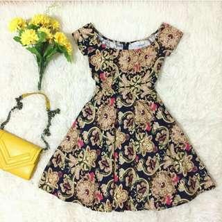 Premium Flower Ethnic Dress