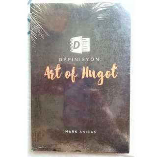 Depinisyon: Art of Hugot by Mark Anicas (Sealed) plus Two FREE books