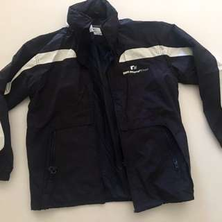 BMW Williams F1 weather zip up jacket