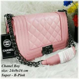 Chanel.boy baby pink