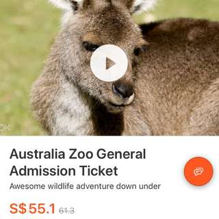 Discounted Australia Zoo General Admission Tickets