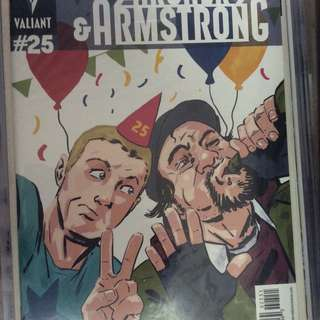 Archer and Armstrong 25 variant