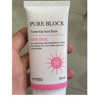 A'pieu Pure Block Tone-Up Sun Base