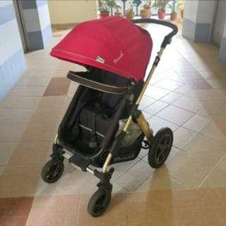 Pouch Bassinet Stroller