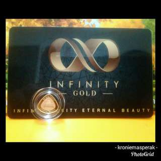 1g Gold Wafer Infinity