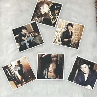 Super Junior Official Photocard (back to back)