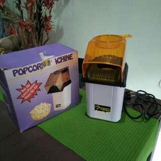 Popcorn machine (mesin pembuat popcorn)