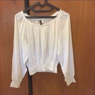 H&M!!! Blouse white