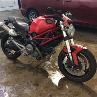 Selling Ducati Monster 696 ABS
