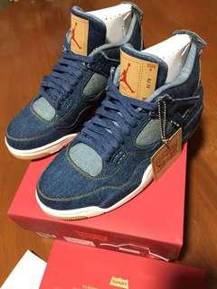 Bnew Air Jordan 4 x Levis