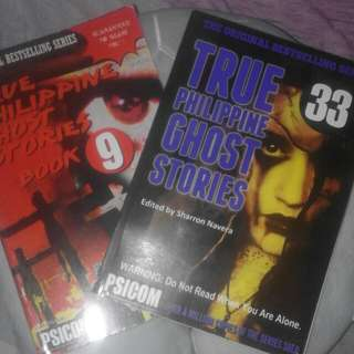 True Philippine Ghost Stories (Issue 9&33)