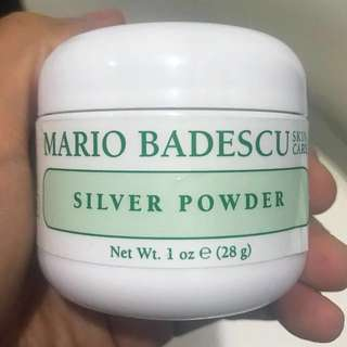 Auth 💯 Mario Badescu Silver Powder Mask ( Best-Seller, always always out of stock too)