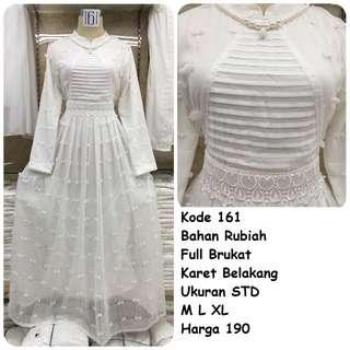 Gamis putih #161