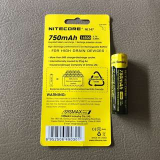 Nitecore 14500 Battery