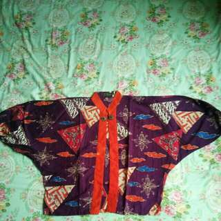 Bolero batik/blazer batik