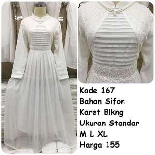 Gamis putih #167