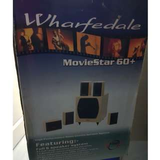Wharfedale Moviestar 60+ - speaker system 6.1 **** HOT DEAL ****