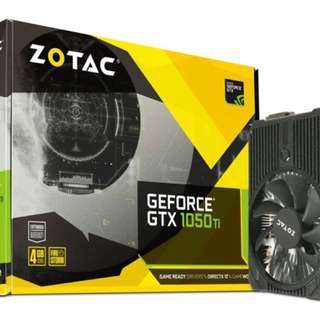Zotac GTX 1050ti Mini 4GB