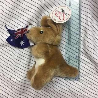Australia Kangaroo 澳洲袋鼠公仔手信