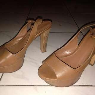 sandal sepatu heels