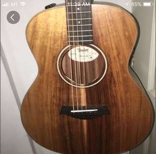 Taylor GS Mini E-koa Guitar (w pickup)